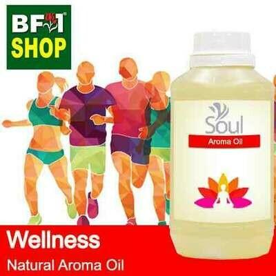 Natural Aroma Oil (AO) - Wellness Aura Aroma Oil - 500ml