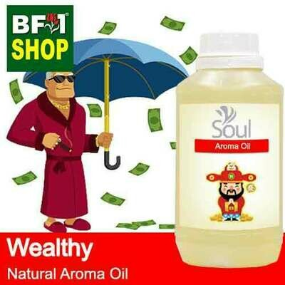 Natural Aroma Oil (AO) - Wealthy Aura Aroma Oil - 500ml