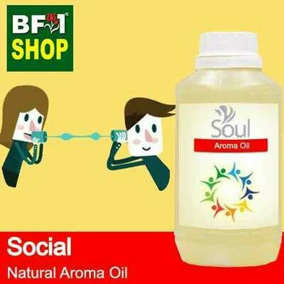 Natural Aroma Oil (AO) - Social Aura Aroma Oil - 500ml