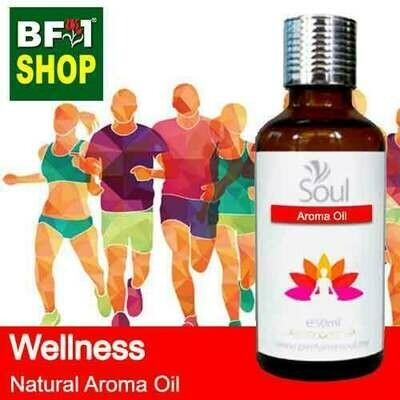 Natural Aroma Oil (AO) - Wellness Aura Aroma Oil - 50ml