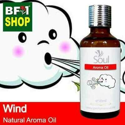 Natural Aroma Oil (AO) - Wind Aura Aroma Oil - 50ml