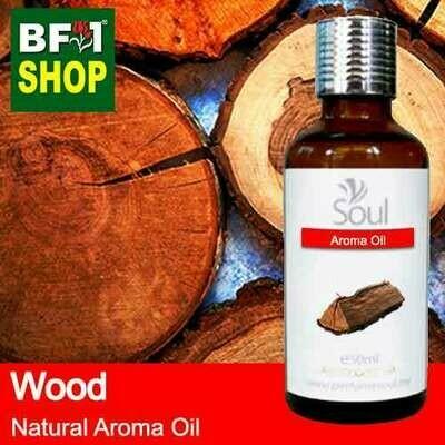 Natural Aroma Oil (AO) - Wood Aura Aroma Oil - 50ml