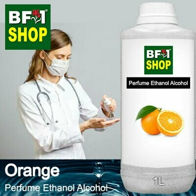 Perfume Alcohol - Ethanol Alcohol 75% with Orange - 1L
