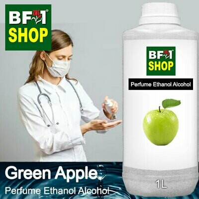 Perfume Alcohol - Ethanol Alcohol 75% with Apple - Green Apple - 1L