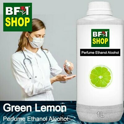 Perfume Alcohol - Ethanol Alcohol 75% with Lemon - Green Lemon - 1L