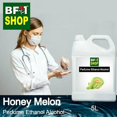 Perfume Alcohol - Ethanol Alcohol 75% with Honey Melon - 5L