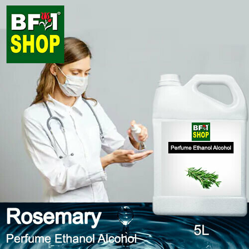 Perfume Alcohol - Ethanol Alcohol 75% with Rosemary - 5L