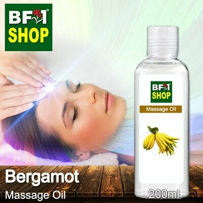 Palm Massage Oil - Bergamot - 200ml