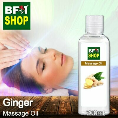 Palm Massage Oil - Ginger - 200ml