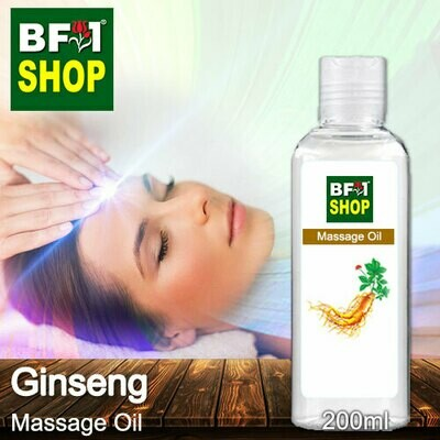 Palm Massage Oil - Ginseng - 200ml
