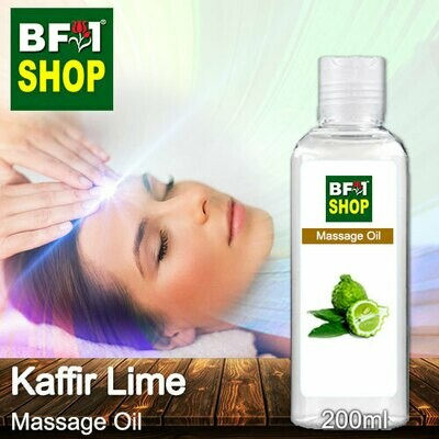 Palm Massage Oil - Kaffir Lime - 200ml