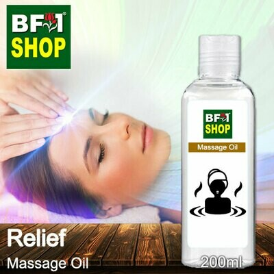 Palm Massage Oil - Relief - 200ml