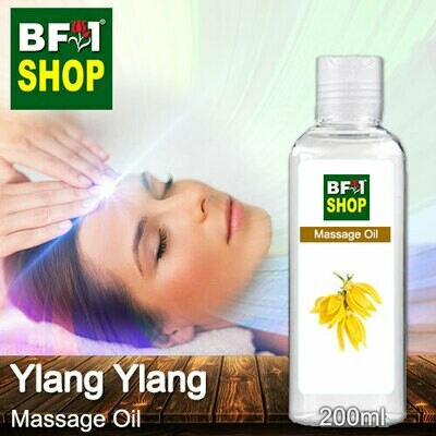 Palm Massage Oil - Ylang Ylang - 200ml