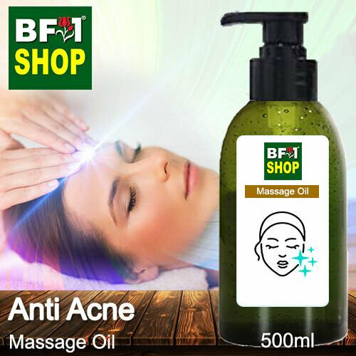 Palm Massage Oil - Anti Acne - 500ml