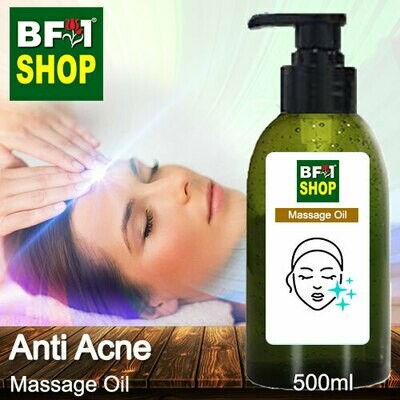 Palm Massage Oil - Anti Acne - 500ml
