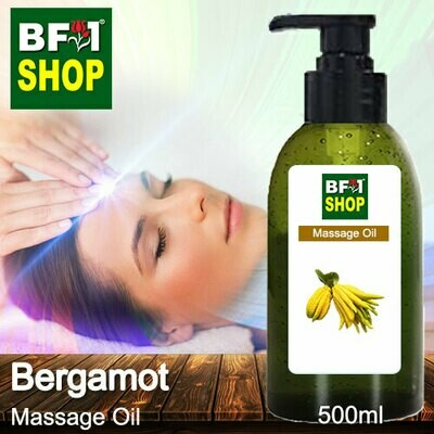 Palm Massage Oil - Bergamot - 500ml
