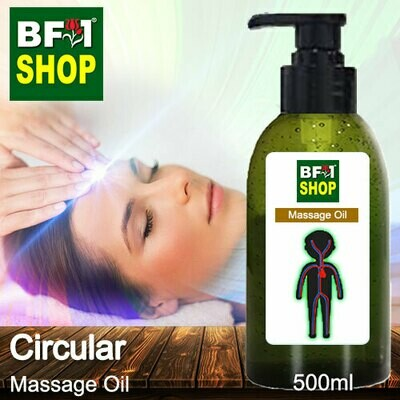 Palm Massage Oil - Circular - 500ml