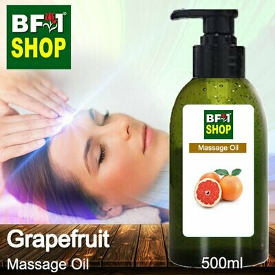 Palm Massage Oil - Grapefruit - 500ml