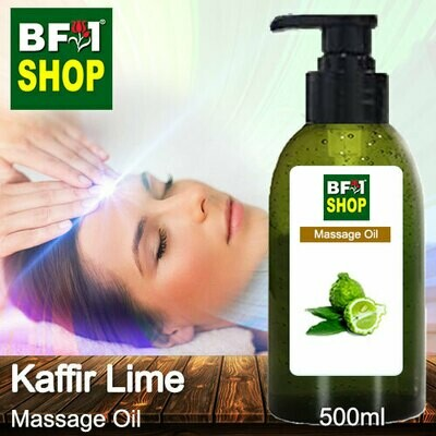 Palm Massage Oil - Kaffir Lime - 500ml