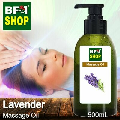 Palm Massage Oil - Lavender - 500ml