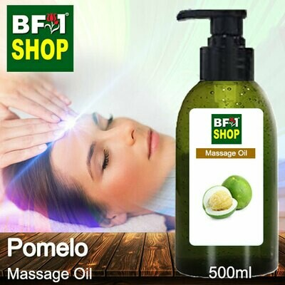 Palm Massage Oil - Pomelo - 500ml