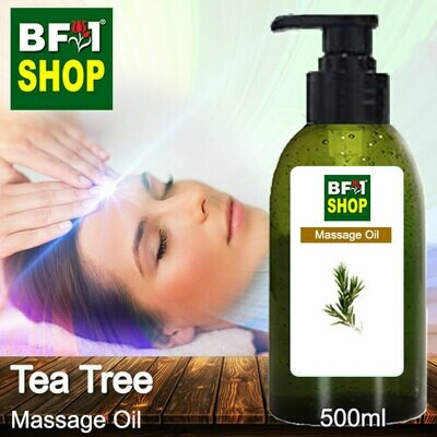 Palm Massage Oil - Tea Tree - 500ml