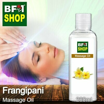 Palm Massage Oil - Frangipani - 200ml