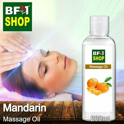 Palm Massage Oil - Mandarin - 200ml