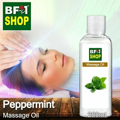 Palm Massage Oil - Peppermint - 200ml