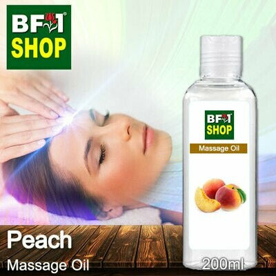 Palm Massage Oil - Peach - 200ml