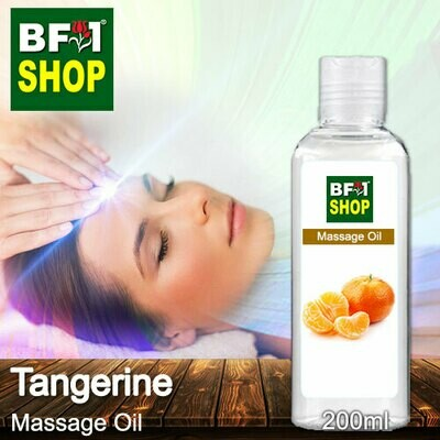 Palm Massage Oil - Tangerine - 200ml