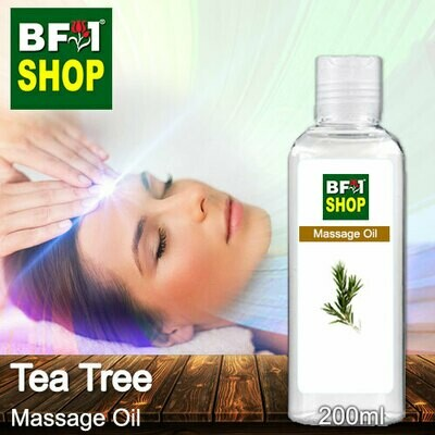 Palm Massage Oil - Tea Tree - 200ml