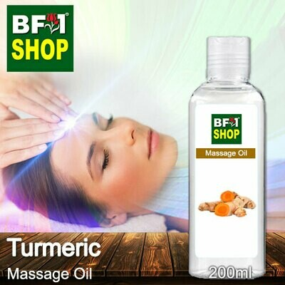 Palm Massage Oil - Turmeric - 200ml