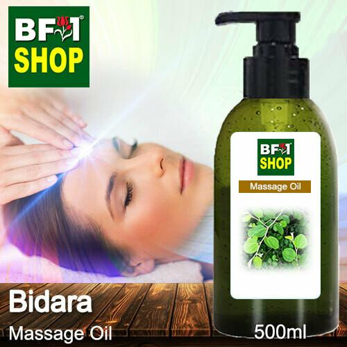 Palm Massage Oil - Bidara - 500ml