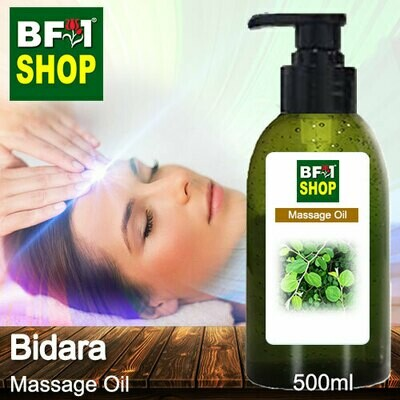 Palm Massage Oil - Bidara - 500ml