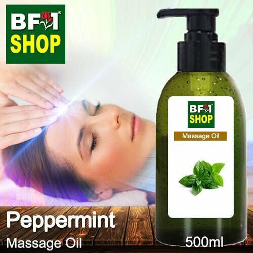 Palm Massage Oil - Peppermint - 500ml
