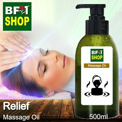 Palm Massage Oil - Relief - 500ml