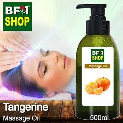 Palm Massage Oil - Tangerine - 500ml