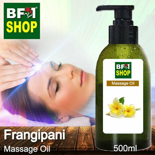 Palm Massage Oil - Frangipani - 500ml