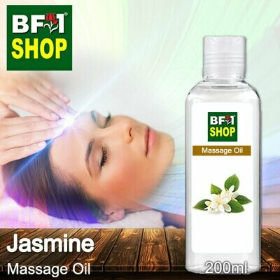 Palm Massage Oil - Jasmine - 200ml