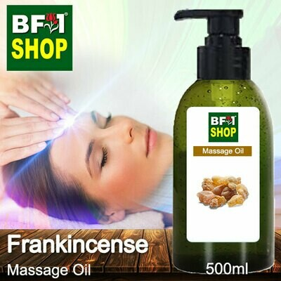 Palm Massage Oil - Frankincense - 500ml