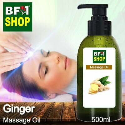 Palm Massage Oil - Ginger - 500ml