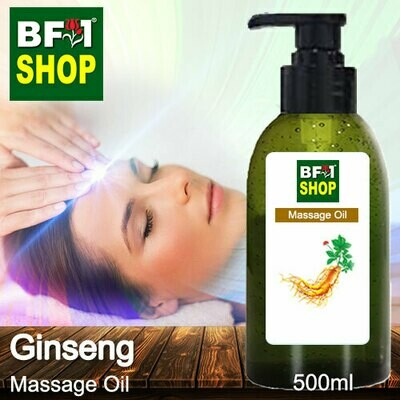 Palm Massage Oil - Ginseng - 500ml