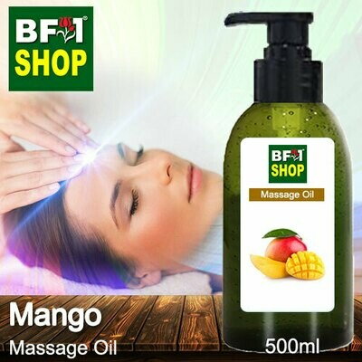Palm Massage Oil - Mango - 500ml