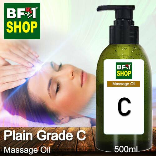 Palm Massage Oil - Plain Grade C - 500ml