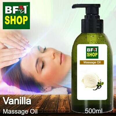 Palm Massage Oil - Vanilla - 500ml