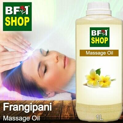 Palm Massage Oil - Frangipani - 1000ml
