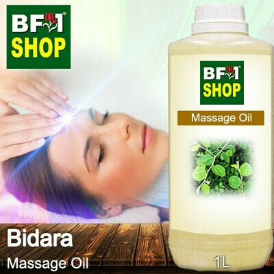 Palm Massage Oil - Bidara - 1000ml