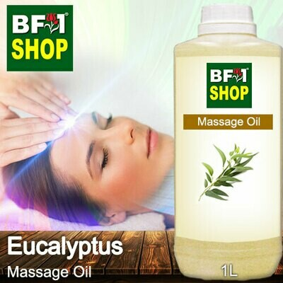 Palm Massage Oil - Eucalyptus - 1000ml