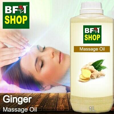 Palm Massage Oil - Ginger - 1000ml
